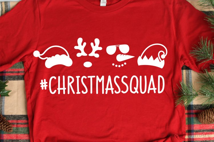 Christmas Squad SVG, DXF, PNG, EPS example image 1