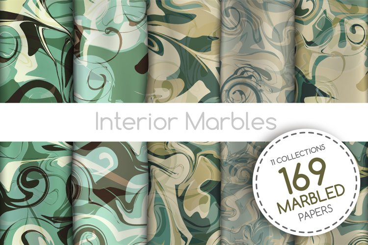 The BIGGEST Marbled Paper Collection example image 1