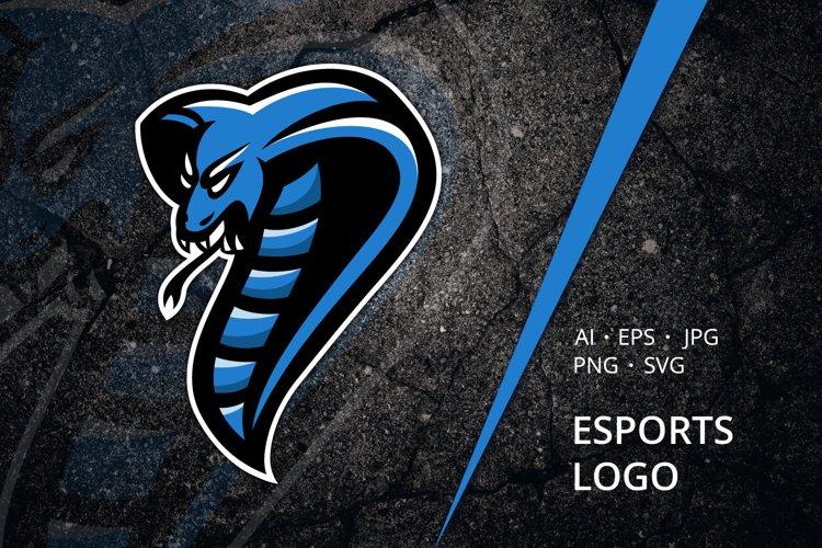 Cobra Esports Logo Template example image 1