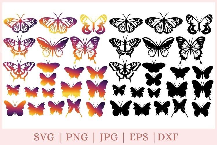 Butterfly SVG bundle, butterfly clipart