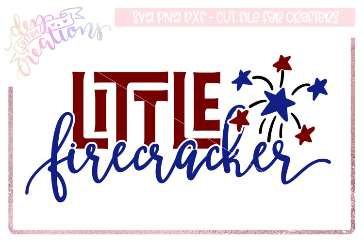 Little Firecracker - 4th of July Design example image 1