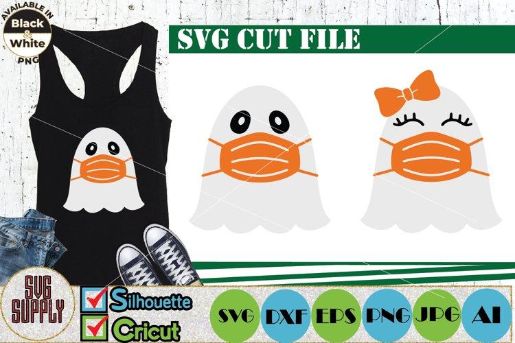 Halloween Ghost SVG Cut File