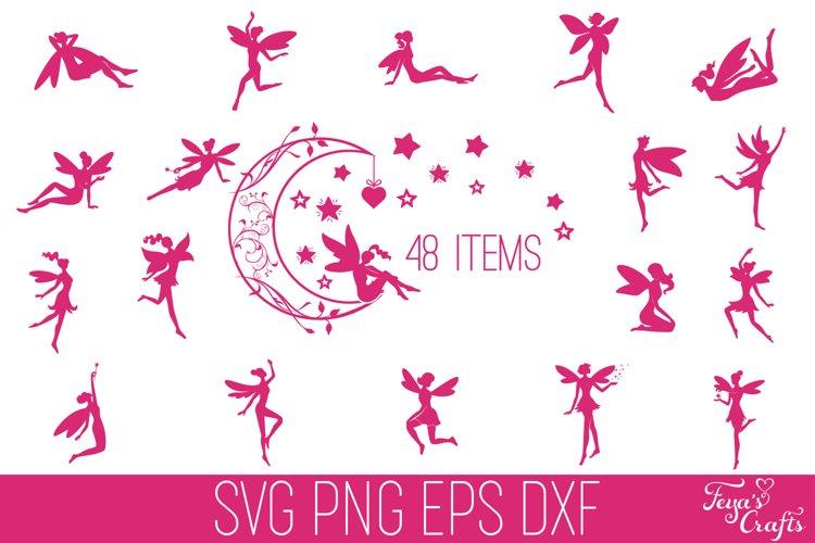 Fairy SVG Bundle | Fairies SVG Cricut