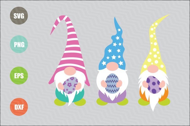 Easter Gnomes SVG example image 1