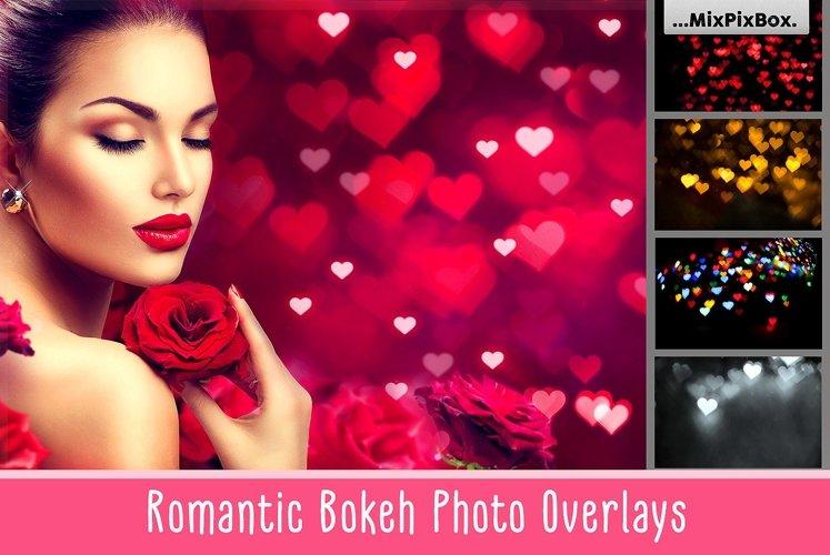 Romantic Bokeh Photo Overlays example image 1