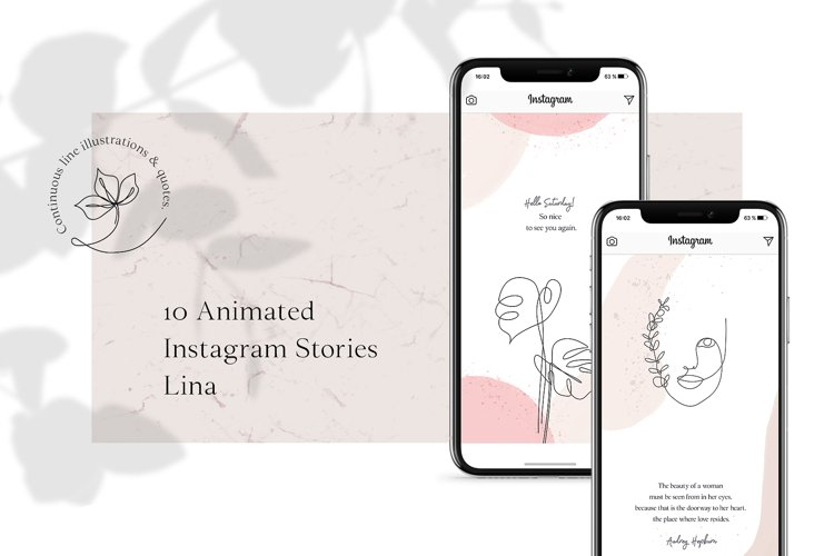 ANIMATED Instagram Stories - Lina