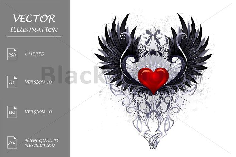 Dark angel heart example image 1