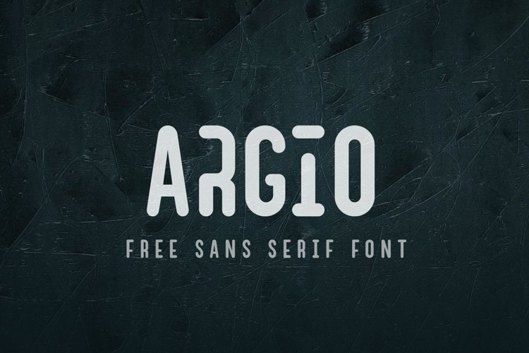 Argio Family- Sans Serif with optional Stencils example image 1