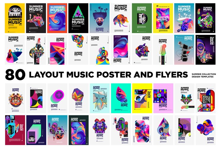 80 Music Illustration for Event Poster and Magazine example image 1
