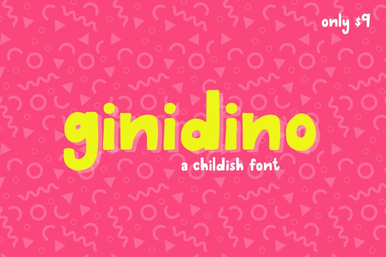 Ginidino Font example image 1