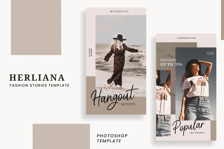 Herliana Instagram Story Template