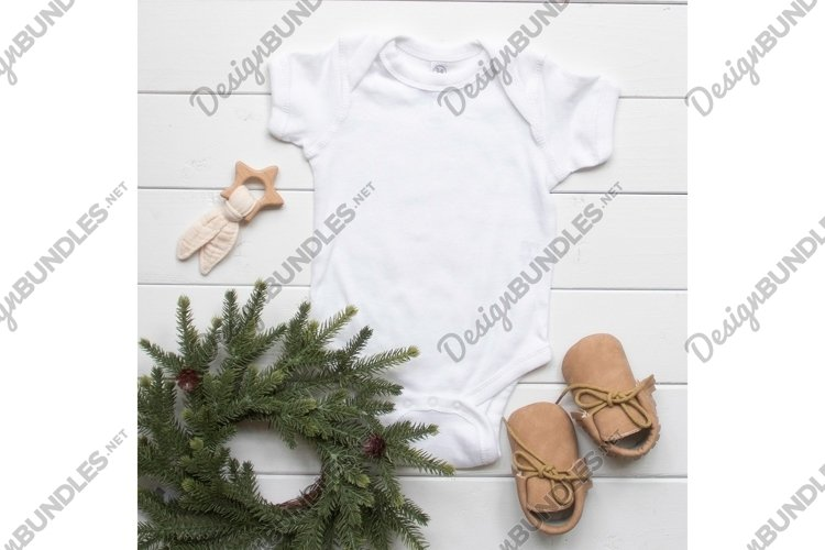 Rabbit Skins 4400 White Onesie Bodysuit Photo