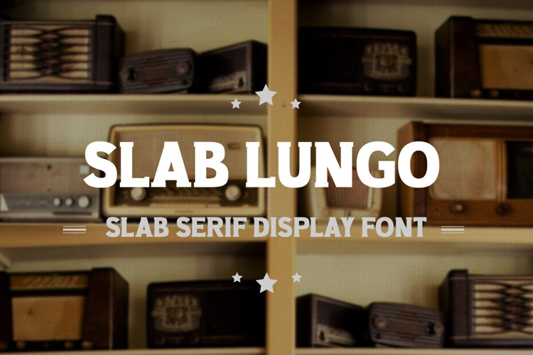 Slab Lungo - Vintage Serif Slab example image 1