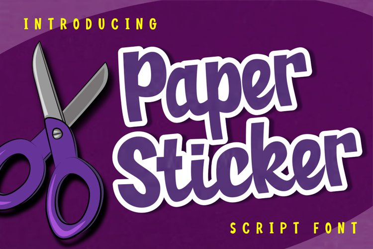 Paper Sticker example image 1