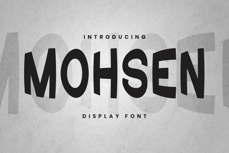Web Font Mohsen Font example image 1