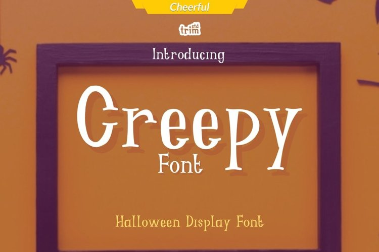 Creepy - Halloween Fright Font