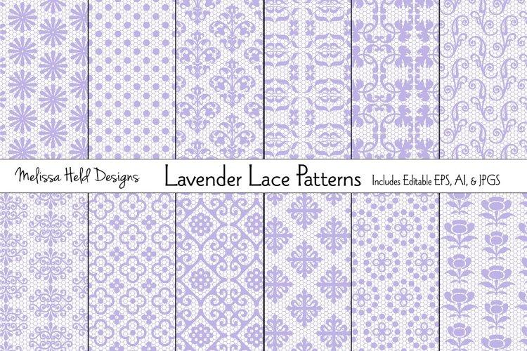 Lavender Lace Patterns