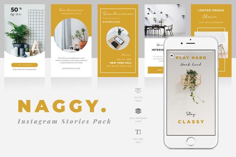 Naggy Instagram Story Template example image 1
