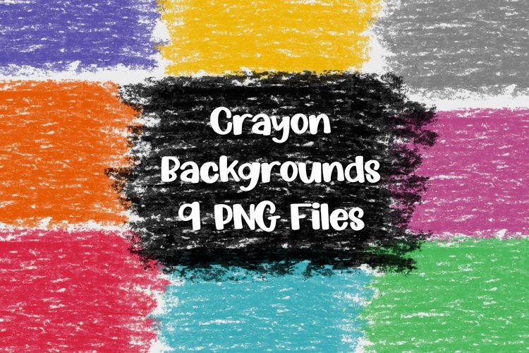 Crayon Textures | Backgrounds for Sublimation