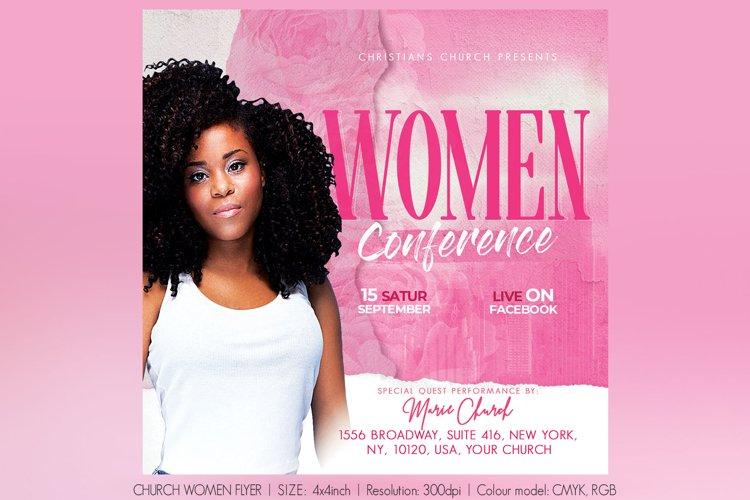 Church Women Flyer example image 1