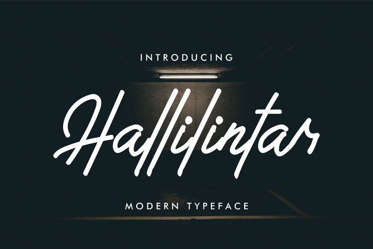 Hallilintar | Modern Font example image 1