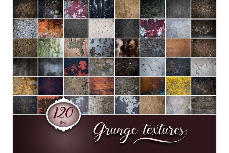 120 Grunge Cracks Photo Overlays example image 1