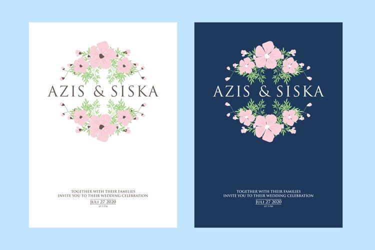 invitation wedding card template design example image 1