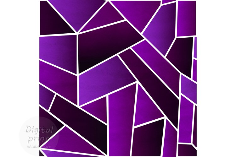 Abstract purple digital paper Green abstract seamless patter example image 1