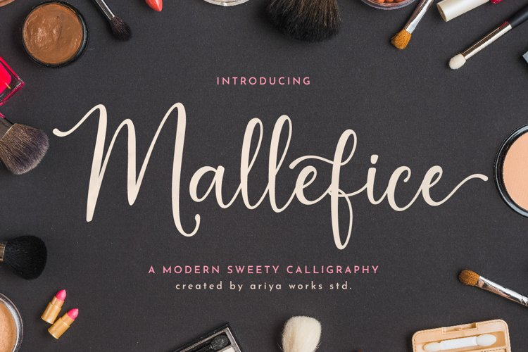 Mallefice   Modern Calligraphy example image 1
