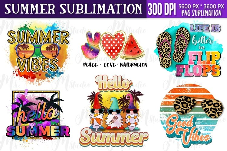 Summer sublimation Bundle