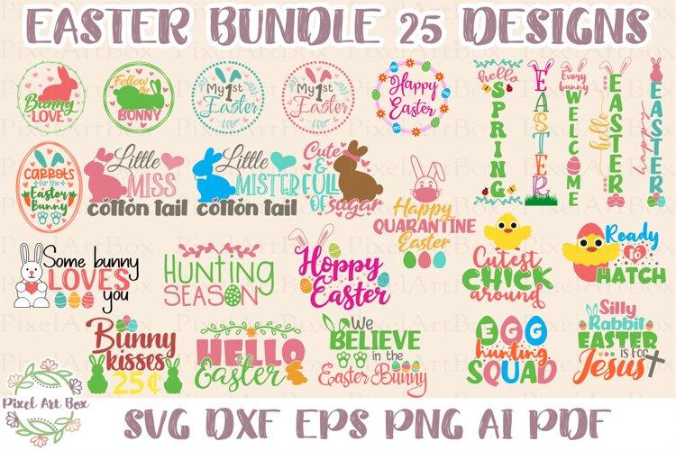 Easter Bundle 25 Designs SVG Cut File