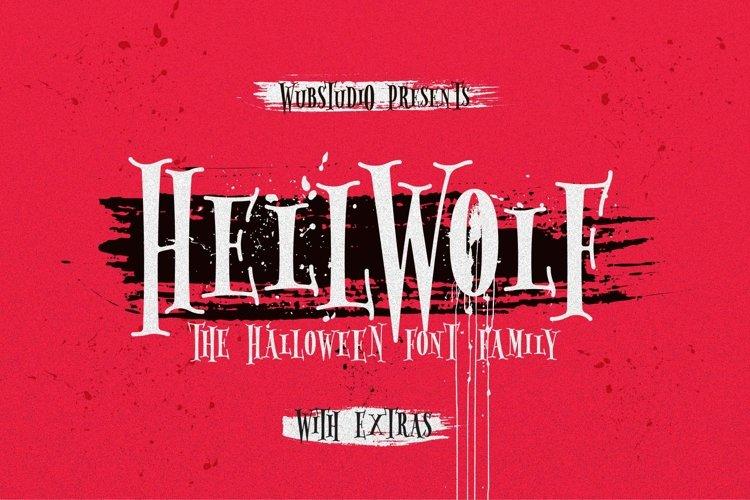 Hellwolf Typeface example image 1