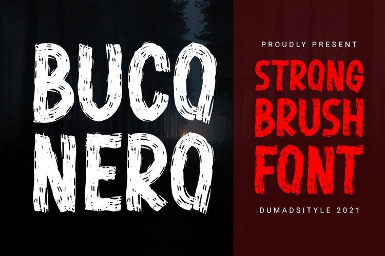 Buco Nero - Modern Brush example image 1
