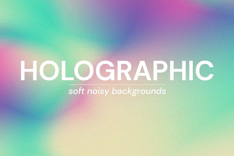 Holographic - Soft Noisy Backgrounds example image 1