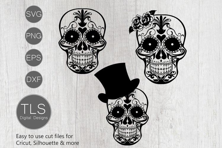 Day of the Dead SVG, Sugar Skull SVG