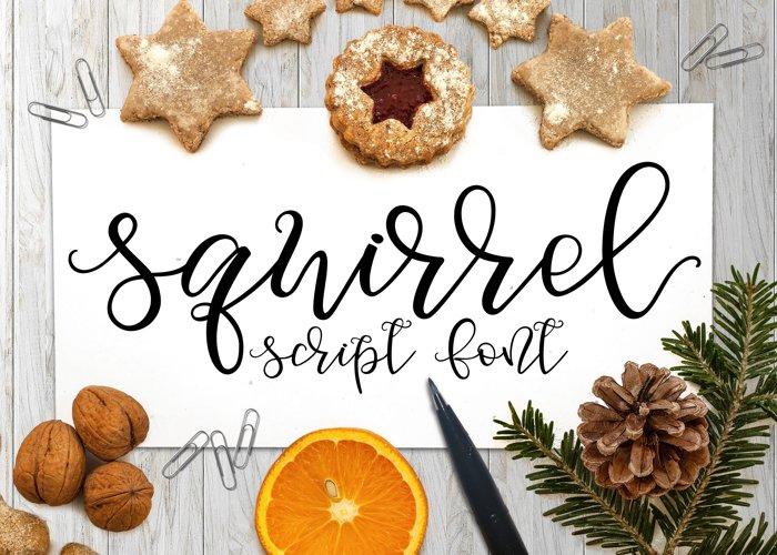 Squirrel Script Font