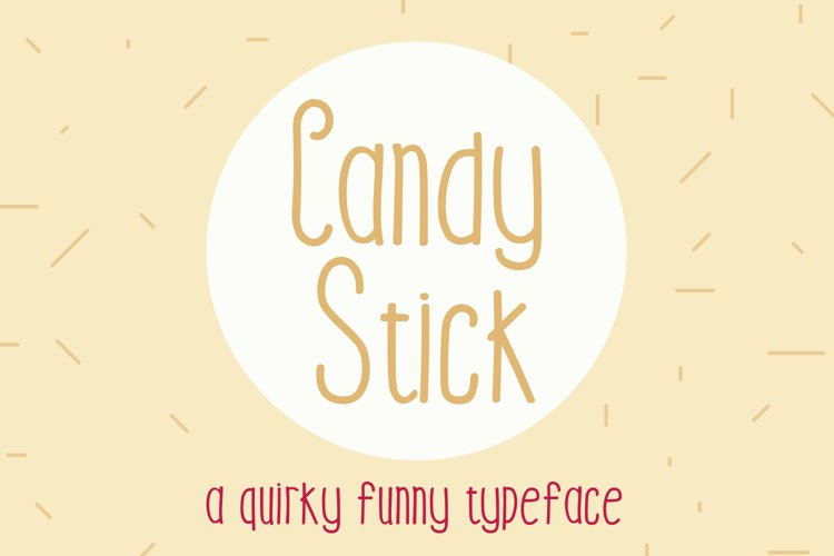Candy Stick example image 1