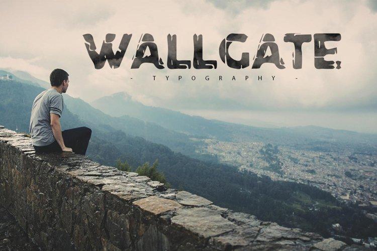 Wallgate Typography