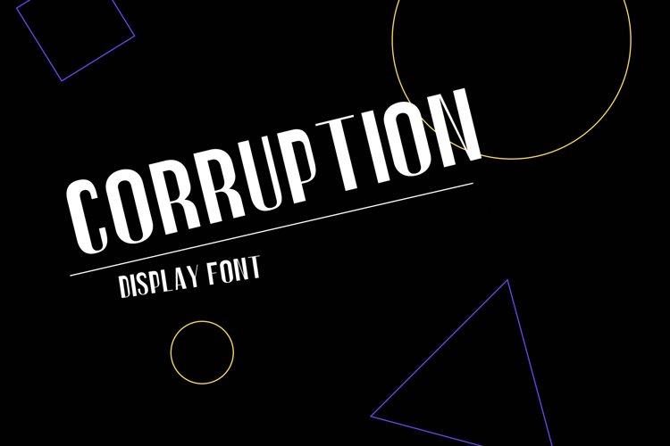 Corruption example image 1
