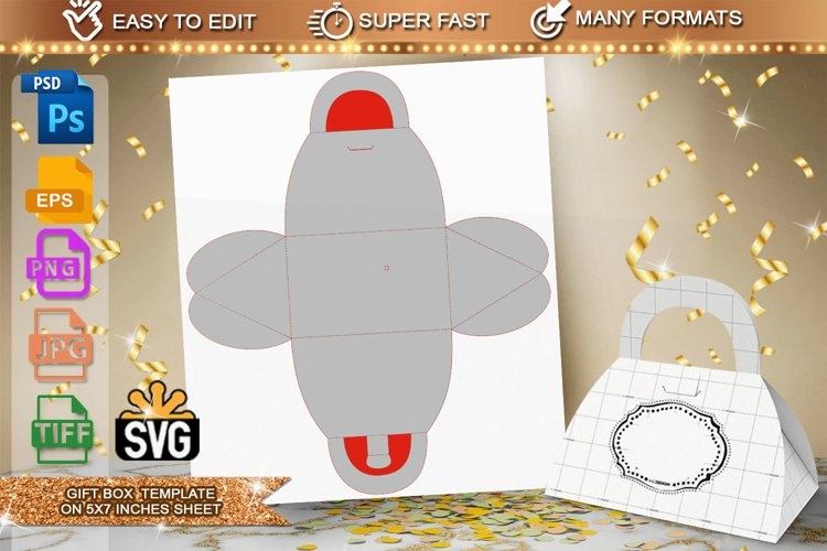 Gift Box Template example image 1