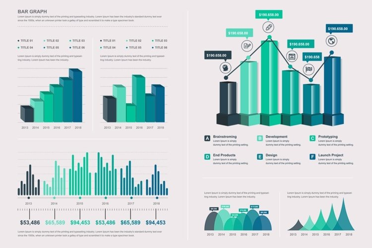 Big Infographic Elements Template