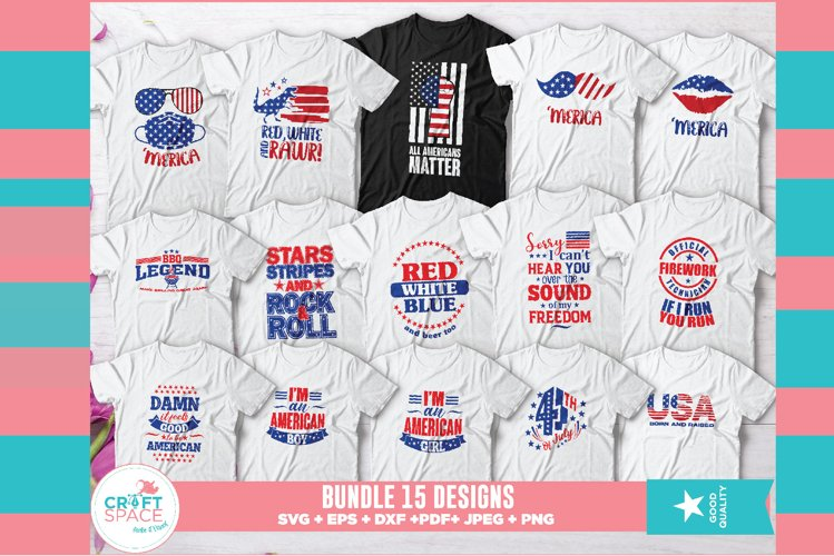 Independence Day 4th of July Bundle example image 1