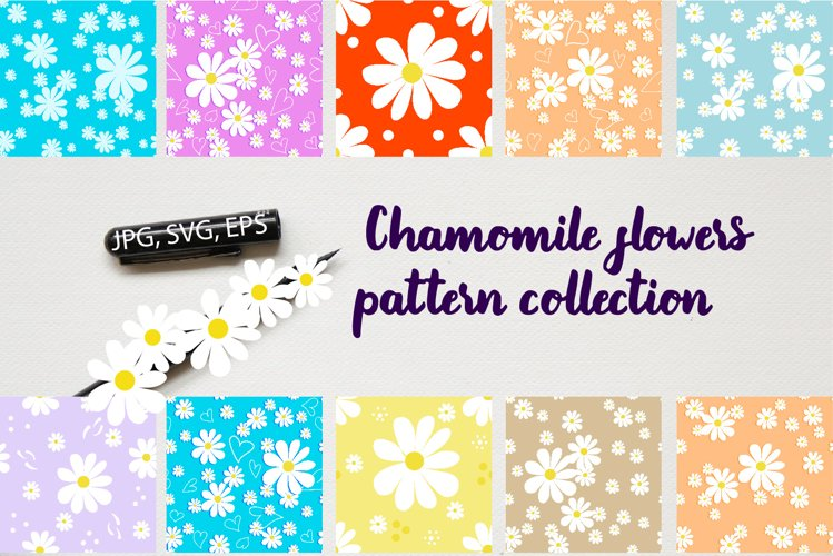 Chamomile patterns example image 1