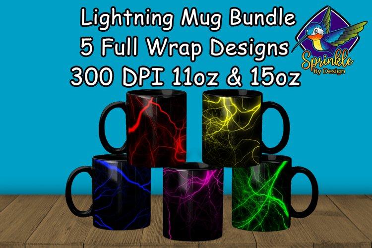 Lightning Mug Sublimation Bundle - Sublimation Mug Designs