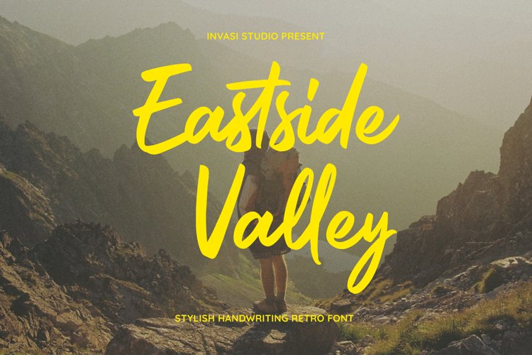 Eastside Valley || Stylish Retro Script