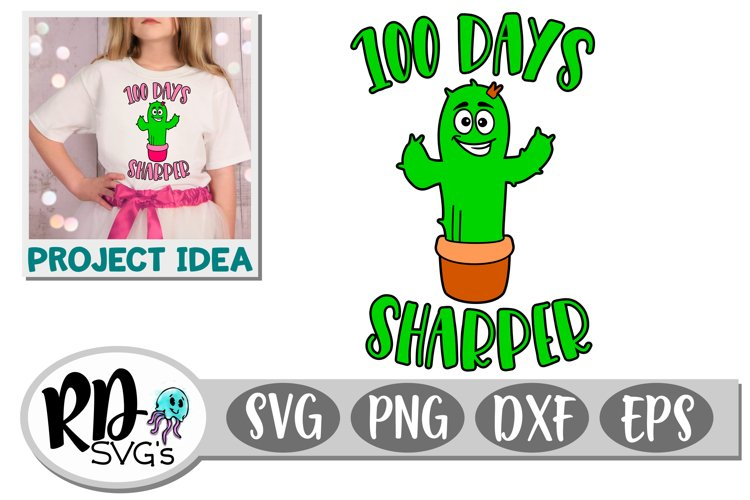 100 Days Sharper - A 100th Day Cut File for your Cricut