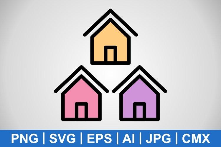 Vector Neighborhood Icon example image 1