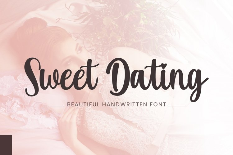 Sweet Dating - A Beautiful Handwritten Font