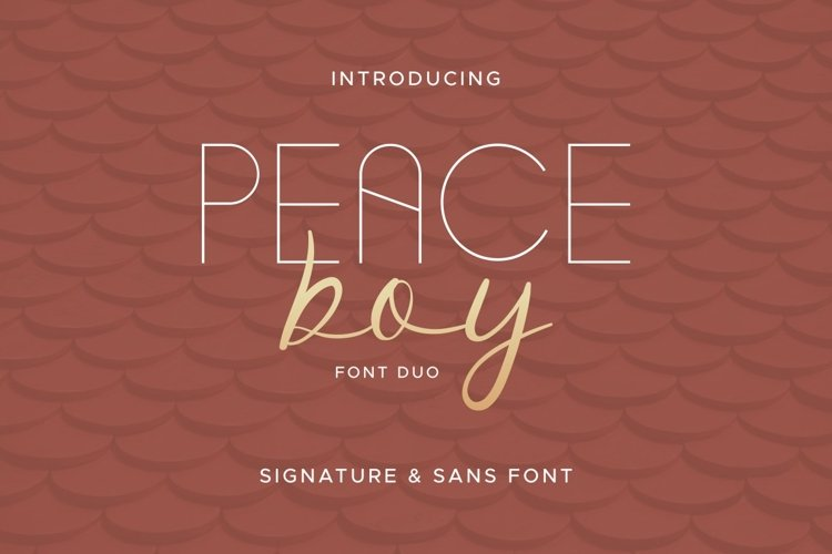 Peace Boy example image 1