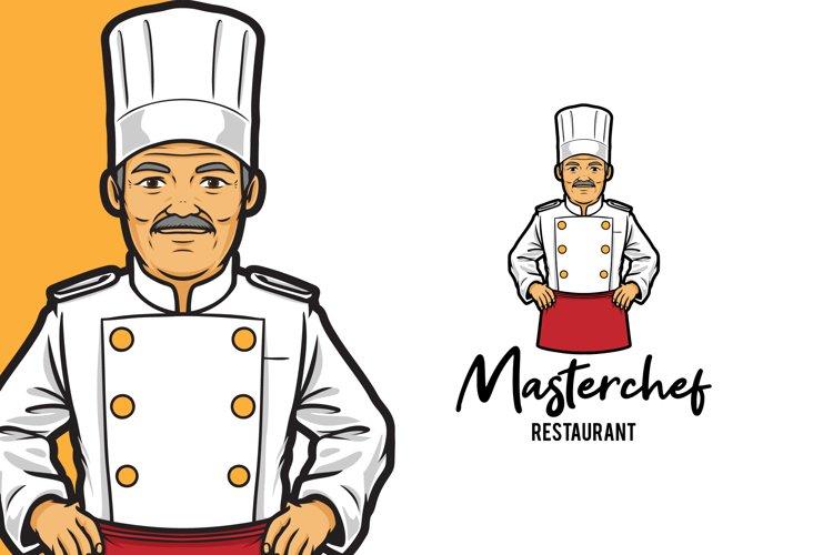 Masterchef Restaurant Logo Template example image 1